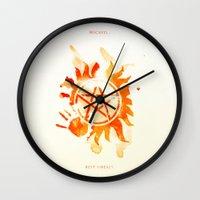 supernatural Wall Clocks featuring Supernatural by Rose's Creation
