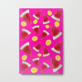 Summer Fruit Punch Metal Print