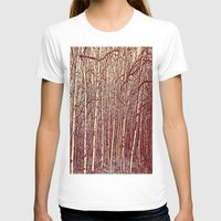 birch T-shirts featuring Birch by Indigo Rayz