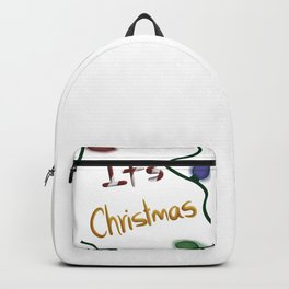 It's christmas Backpack