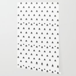 Arrows Collages Monochrome Pattern Wallpaper