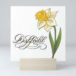 Yellow Daffodil Mini Art Print