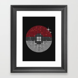 Discopoke Framed Art Print