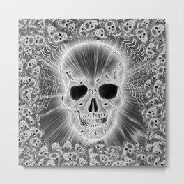 Skull 20161119 Metal Print