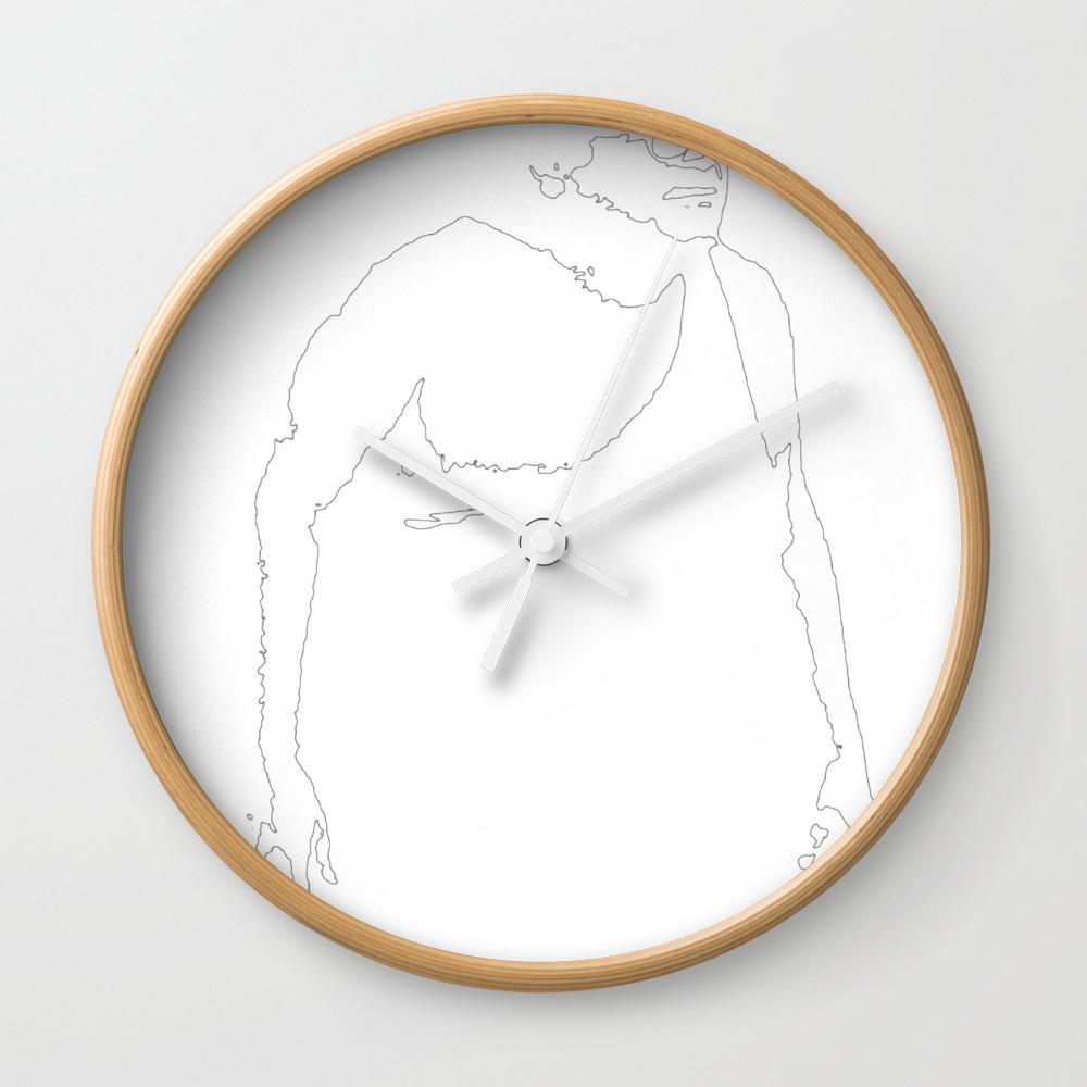Trash Man Wall Clock by Thadesign CLK8900678