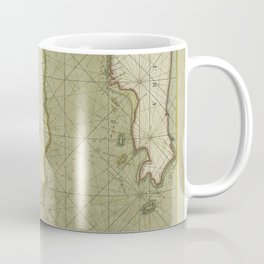 A large draught of the east end of JAVA and MADURA shewing the streights of BALLY Coffee Mug