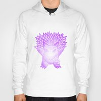 gengar Hoodies featuring scratchy gengar  by cavia
