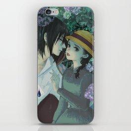 Rain Kiss - Howl and Sophiie iPhone Skin