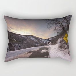 Dead End at Lambs Cayon Rectangular Pillow