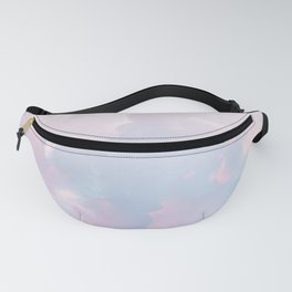 Whimsical Pastel Candy Sky #surreal #society6 Fanny Pack