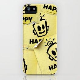 The Happy Sticker iPhone Case