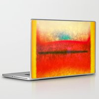 rothko Laptop & iPad Skins featuring After Rothko 8 by Gary Grayson