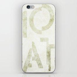 Moscato Wine Typography iPhone Skin
