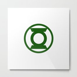 Green Space Cops Logo Metal Print
