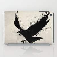 raven iPad Cases featuring Raven by Nicklas Gustafsson