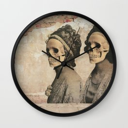 dermis_1 Wall Clock