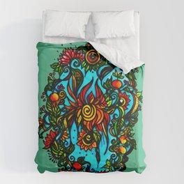 Phoenix Flower Comforters