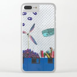 Skipping School Clear iPhone Case