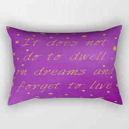 Albus Dumbledore Quote Rectangular Pillow