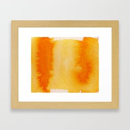 Horizontal Sunrise Haze Framed Art Print