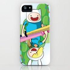 Adventure Time: Finn & Fionna Slim Case iPhone (5, 5s)
