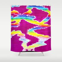 northern lights Shower Curtains featuring Northern Lights by Carrollskitchen on youtube