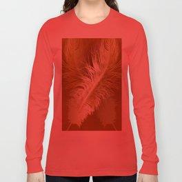 Golden Ostrich Long Sleeve T-shirt