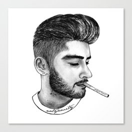 Pretty Zaynie Canvas Print