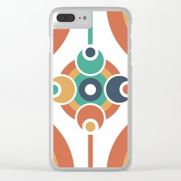 Geo Spectrum Clear iPhone Case
