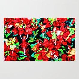 Fairy Flower | Christmas Spirit Rug