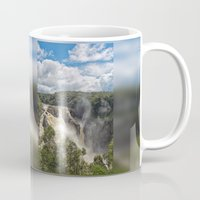 geology Mugs featuring Beautiful Barron Falls by Wendy Townrow
