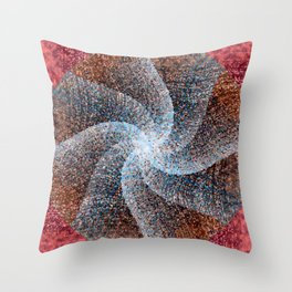 Ethereal Star Throw Pillow
