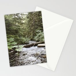 And The Water Gorged The Wood Stationery Cards