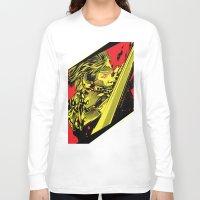 metal gear Long Sleeve T-shirts featuring Metal Gear Rising by HyperTwenty