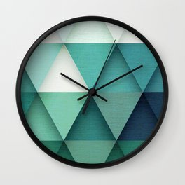TRIANGULAR II Wall Clock
