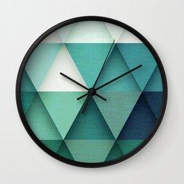 TRIANGULAR II Wall Clock