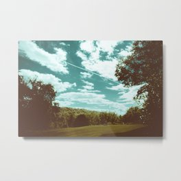to see the other side of the sky. Metal Print