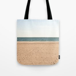 Sand, sea, sky Tote Bag