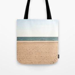 Sand, sea, sky Tote Bag