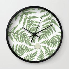FERN CIRCLE Wall Clock