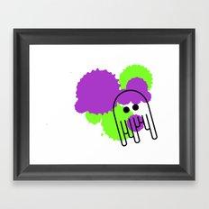 Pulpo Framed Art Print