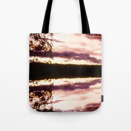 Rorschach's Sunset Tote Bag