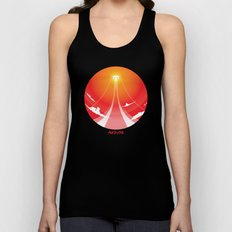 Flying High Unisex Tank Top