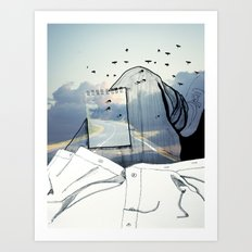 Viagem#2 Art Print