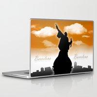 barcelona Laptop & iPad Skins featuring Barcelona  by WIGEGA
