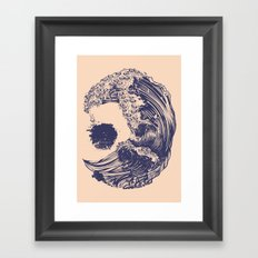 Pugs X Swell Framed Art Print