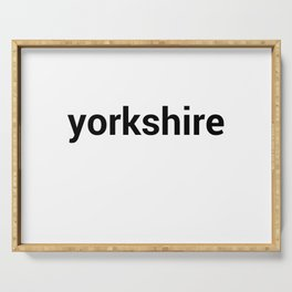 yorkshire Serving Tray