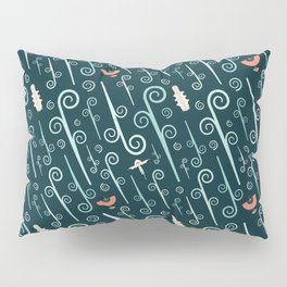 Avatar: The Last Airbender (Dark) Pattern Pillow Sham