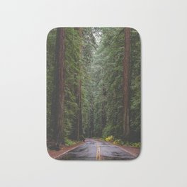 Avenue of The Giants Bath Mat