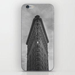 Flat Iron Building - New York iPhone Skin